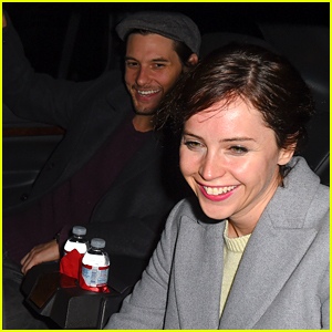 Ben Barnes Flies Into LAX with Felicity Jones!