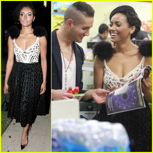 Kat Graham Hangs Out with Male Friend After Ending Engagement to Cottrell Guidry
