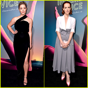 Sasha Pieterse & Jena Malone Glam Up for 'Inherent Vice' Premiere!