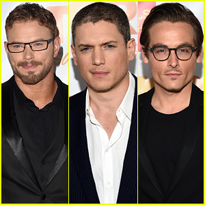 Kellan Lutz Rocks a Cute Glasses Look at TrevorLIVE LA 2014!