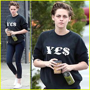 Kristen Stewart Explains Why She Loved Working With Julianne Moore & Juliette Binoche