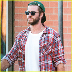 Liam Hemsworth Looks Laid Back with His Buddy