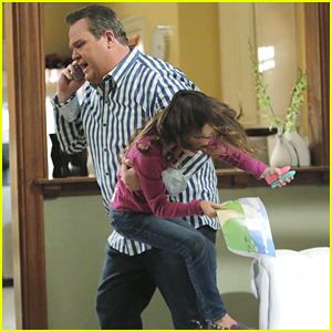 Lily Gets A Lift From Cameron On Tonight's New 'Modern Family'