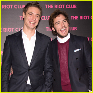 Max Irons & Sam Claflin Have a Blast at Their Movie Premiere