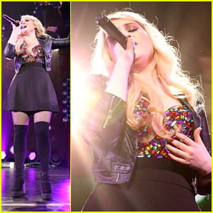 Meghan Trainor Keeps Us Dancing at Q102's Jingle Ball With Kiesza