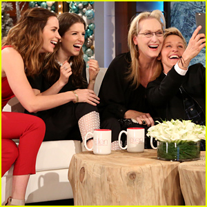 The 'Into the Woods' Ladies Take An Epic Selfie Together!