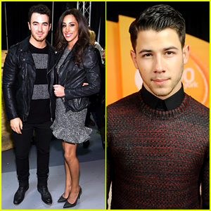Nick Jonas Gets Brother Kevin's Support at Z100 Jingle Ball