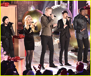 Pentatonix Lit Up Rockefeller Center After Landing at #2 on Billboard 200 Chart