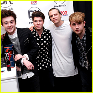 Rixton Rock Out The Holidays at iHeartRadio's Jingle Ball 2014