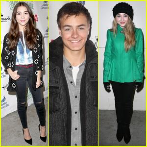 Rowan Blanchard & 'Girl Meets World' Cast Get into the Holiday Spirit at Hollywood Christmas Parade 2014