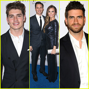 Gregg Sulkin & Ryan Rottman Have A Guy's Night At Generosity Gala 2014
