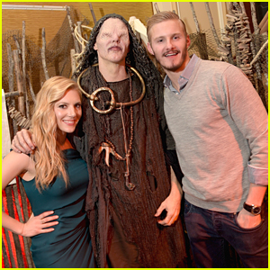 Alexander Ludwig Celebrates 'Vikings' At TCA Tour 2015