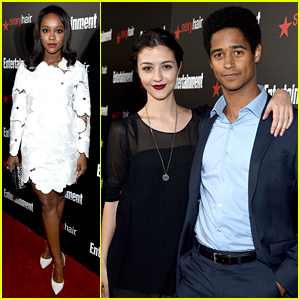 Alfie Enoch & Katie Findlay Celebrate the SAG Nominees with 'EW'