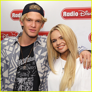Alli Simpson Welcomes Brother Cody As First Guest To Radio Disney Show