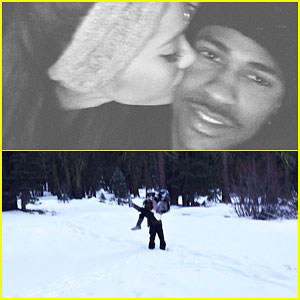 Ariana Grande & Big Sean Shoot Down Split Rumors with a Tahoe Vacation