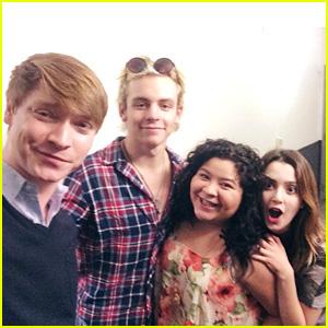 Ross Lynch, Laura Marano & 'Austin & Ally' Cast Celebrate Season Four Premiere!