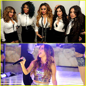Fifth Harmony & Becky G Hit the Stage in Miami for New Year's Eve 2015