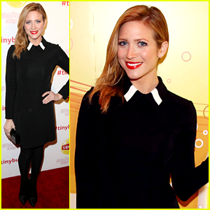 Brittany Snow Has a 'Tiny Bubbles' Moment with Lipton at Sundance!