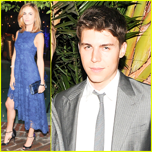 Camilla Belle & Nolan Gerard Funk Bring Young Hollywood to Mulberry Dinner
