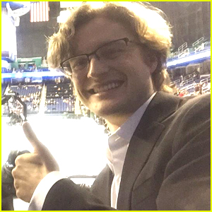 Charlie White Sends Quick Good Luck Message As Ice Dance Competition Is Underway at US Nationals