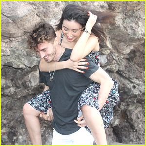 Christian Serratos & Boyfriend David Boyd Head To Mexico For Holiday Getaway - See The Cute Pics Here!