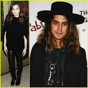 Hailee Steinfeld & Avan Jogia Dine with 'Ten Thousand Saints' Cast at Sundance