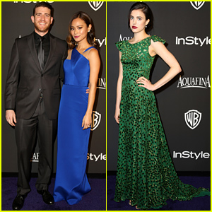 Jamie Chung & Bryan Greenberg Are So Cute Together at the InStyle Golden Globes 2015 Party