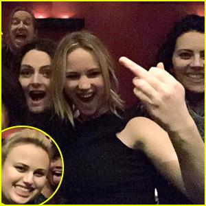 Jennifer Lawrence & Rebel Wilson Hang Out at Lauren Ash's Birthday Celebration