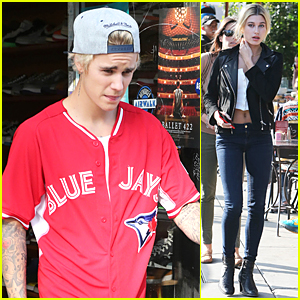 Justin Bieber & Hailey Baldwin Continue to Hang Out During Lunch
