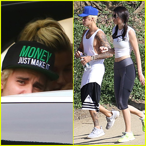 Justin Bieber Hits the Hiking Trails with Kendall Jenner Before Lunching with Hailey Baldwin