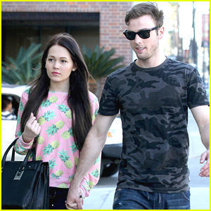 Kelli Berglund with cool, friendly, fun, Girlfriend Sterling Beaumon