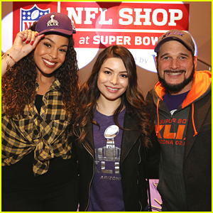 nathan kress and miranda cosgrove 2015. miranda cosgrove \u0026 jordin sparks kick off superbowl festivities at nfl shop grand opening nathan kress and 2015 t