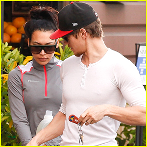 Naya Rivera & Ryan Dorsey Run Errands Before 'Glee's Season Premiere Tonight