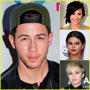 Nick Jonas Plays 'Lips, Wife, Leave' with Three Disney Queens!