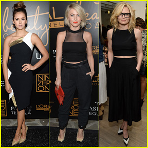 Nina Dobrev & Julianne Hough Buddy Up for Nine Zero One Salon Launch