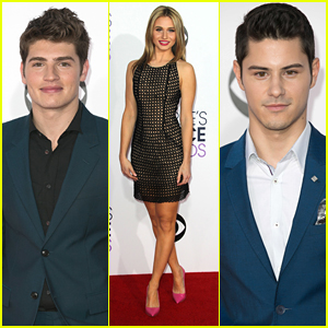 Gregg Sulkin & Rita Volk Bring 'Faking It' To People's Choice Awards 2015