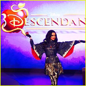 Sofia Carson Promotes 'The Descendants' In London