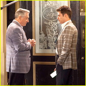 Zac Efron Cleans Up Nicely for 'Dirty Grandpa' Filming