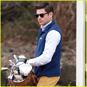 Zac Efron Channels His Inner Prep for 'Dirty Grandpa' Filming
