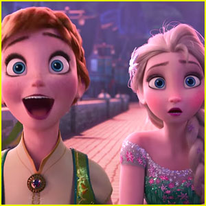 Elsa & Kristoff Plan The Best Birthday Celebration Ever For 'Frozen Fever'