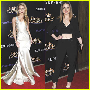 AnnaLynne McCord Hosts The Noble Awards 2015
