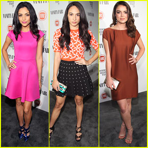 Bianca Santos & William Moseley Celebrate Young Hollywood with Vanity Fair