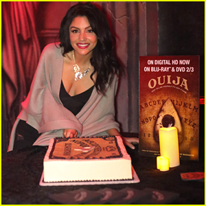 Bianca Santos Cuts Into 'Ouija' Cake At DVD Event (Exclusive Pics!)