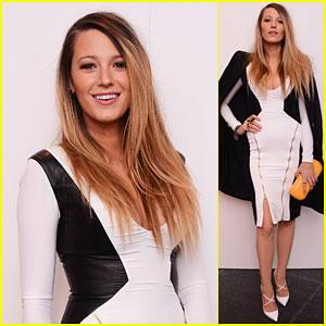 Blake Lively Shows Off Her Amazing Post-Baby Body During Fashion Week!