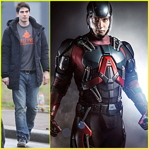 Brandon Routh Fits 'Atom' Suit Perfectly