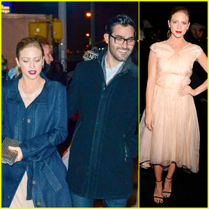 Brittany Snow & Tyler Hoechlin Take Their Love to NYC for Fashion Week!