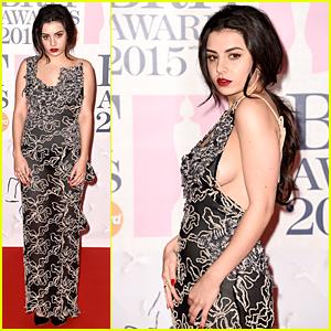 Charli XCX's Sexy Dress Gets Cameras Flashing at BRIT Awards 2015