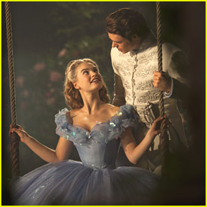 Cinderella Meets The Prince In The Woods In New Clips from 'Cinderella'