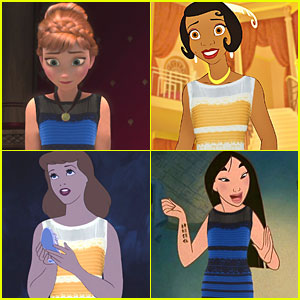 Cinderella, Anna, Tiana, & More Disney Princesses Wear The Dress
