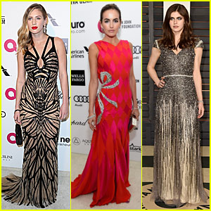 Dylan Penn & Camilla Belle Pretty Up The Oscar After Parties